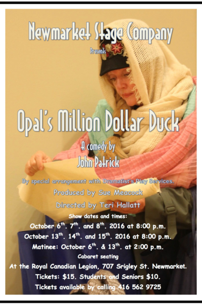 Opal's Million Dollar Duck